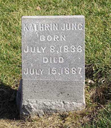 SPANG JUNG, KATHRIN ELIZABETH - Clark County, Ohio | KATHRIN ELIZABETH SPANG JUNG - Ohio Gravestone Photos