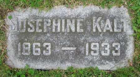 KALT, JOSEPHINE - Clark County, Ohio   JOSEPHINE KALT - Ohio Gravestone Photos
