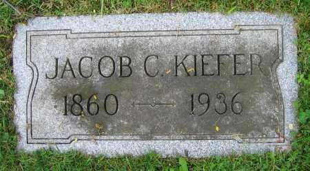 KIEFER, JACOB C. - Clark County, Ohio   JACOB C. KIEFER - Ohio Gravestone Photos