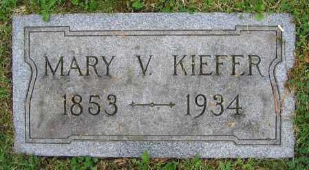 KIEFER, MARY V. - Clark County, Ohio | MARY V. KIEFER - Ohio Gravestone Photos