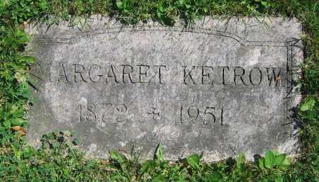 KETROW, MARGARET - Clark County, Ohio | MARGARET KETROW - Ohio Gravestone Photos