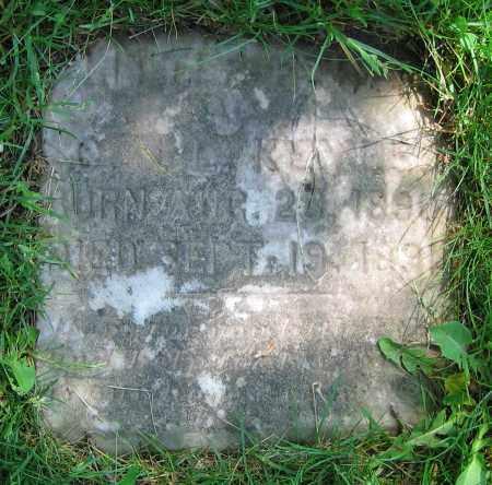 KEYES, LITTLE (?) - Clark County, Ohio | LITTLE (?) KEYES - Ohio Gravestone Photos