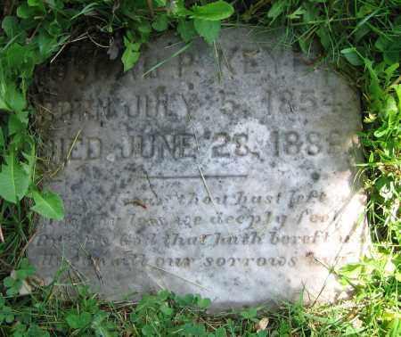 KEYES, OSCAR P. - Clark County, Ohio | OSCAR P. KEYES - Ohio Gravestone Photos