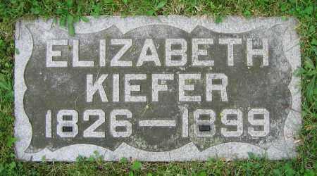 KIEFER, ELIZABETH - Clark County, Ohio | ELIZABETH KIEFER - Ohio Gravestone Photos