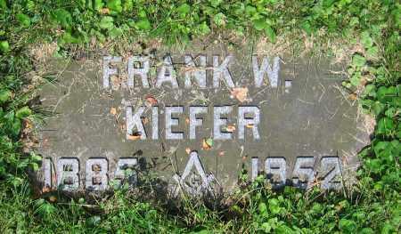 KIEFER, FRANK W. - Clark County, Ohio | FRANK W. KIEFER - Ohio Gravestone Photos