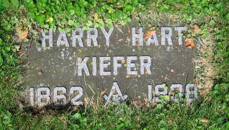 KIEFER, HARRY HART - Clark County, Ohio | HARRY HART KIEFER - Ohio Gravestone Photos