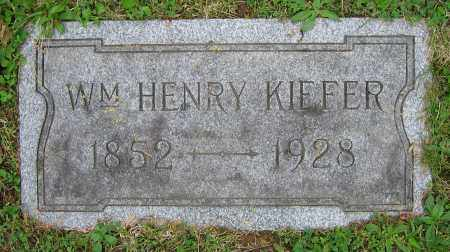 KIEFER, WM. HENRY - Clark County, Ohio | WM. HENRY KIEFER - Ohio Gravestone Photos