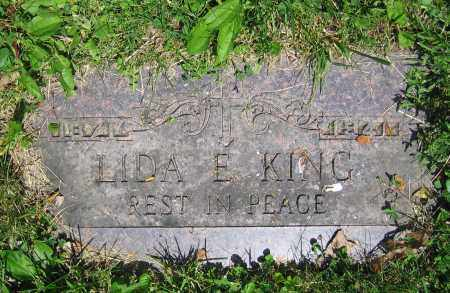 KING, LIDA E. - Clark County, Ohio | LIDA E. KING - Ohio Gravestone Photos