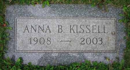 KISSELL, ANNA B. - Clark County, Ohio | ANNA B. KISSELL - Ohio Gravestone Photos