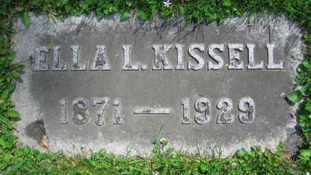 KISSELL, ELLA L. - Clark County, Ohio | ELLA L. KISSELL - Ohio Gravestone Photos