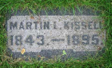KISSELL, MARTIN L. - Clark County, Ohio   MARTIN L. KISSELL - Ohio Gravestone Photos