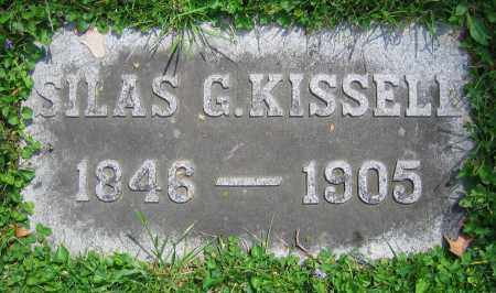 KISSELL, SILAS G. - Clark County, Ohio | SILAS G. KISSELL - Ohio Gravestone Photos