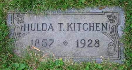 KITCHEN, HULDA T. - Clark County, Ohio | HULDA T. KITCHEN - Ohio Gravestone Photos