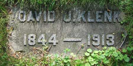 KLENK, DAVID J. - Clark County, Ohio   DAVID J. KLENK - Ohio Gravestone Photos