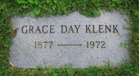 DAY KLENK, GRACE - Clark County, Ohio   GRACE DAY KLENK - Ohio Gravestone Photos