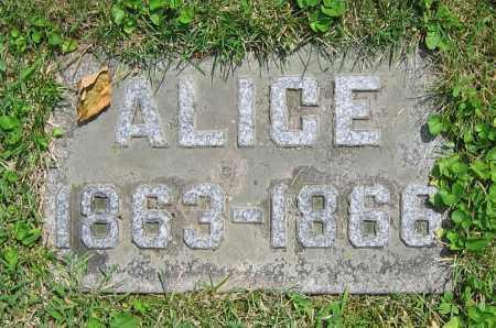 KRAPP, ALICE - Clark County, Ohio | ALICE KRAPP - Ohio Gravestone Photos