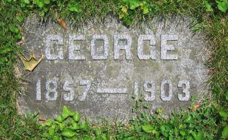 KRAPP, GEORGE - Clark County, Ohio   GEORGE KRAPP - Ohio Gravestone Photos