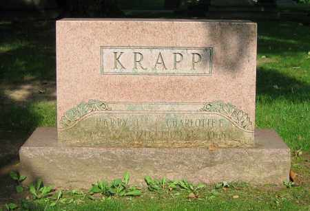 KRAPP, CHARLOTTE E. - Clark County, Ohio | CHARLOTTE E. KRAPP - Ohio Gravestone Photos
