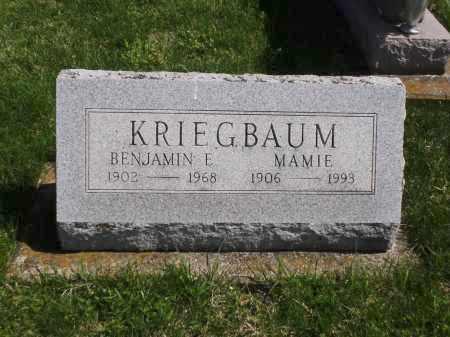 TULL KREIGBAUM, MAMIE - Clark County, Ohio | MAMIE TULL KREIGBAUM - Ohio Gravestone Photos
