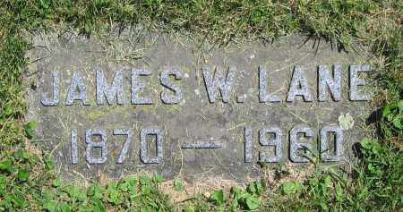 LANE, JAMES W. - Clark County, Ohio | JAMES W. LANE - Ohio Gravestone Photos