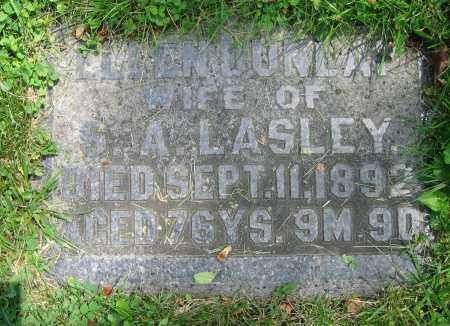 DUNLAP LASLEY, ELLEN - Clark County, Ohio   ELLEN DUNLAP LASLEY - Ohio Gravestone Photos