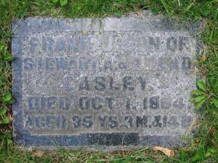 LASLEY, FRANK J. - Clark County, Ohio   FRANK J. LASLEY - Ohio Gravestone Photos