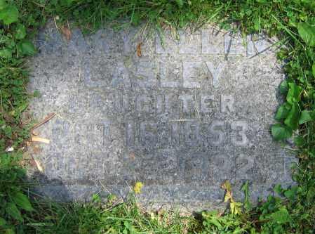 LASLEY, MARY ELLEN - Clark County, Ohio | MARY ELLEN LASLEY - Ohio Gravestone Photos