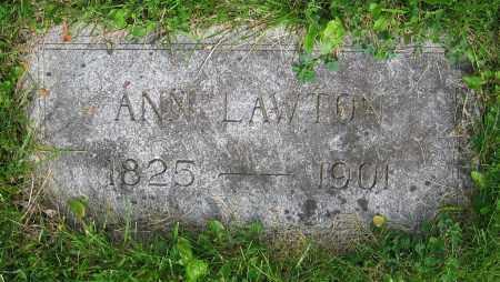 LAWTON, ANN - Clark County, Ohio | ANN LAWTON - Ohio Gravestone Photos