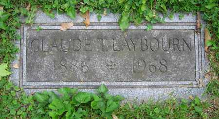 LAYBOURN, CLAUDE T. - Clark County, Ohio | CLAUDE T. LAYBOURN - Ohio Gravestone Photos
