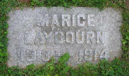 LAYBOURN, MARICE - Clark County, Ohio   MARICE LAYBOURN - Ohio Gravestone Photos