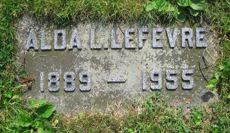 LEFEVRE, ALDA L. - Clark County, Ohio   ALDA L. LEFEVRE - Ohio Gravestone Photos