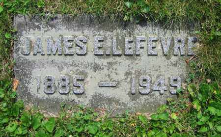 LEFEVRE, JAMES E. - Clark County, Ohio | JAMES E. LEFEVRE - Ohio Gravestone Photos