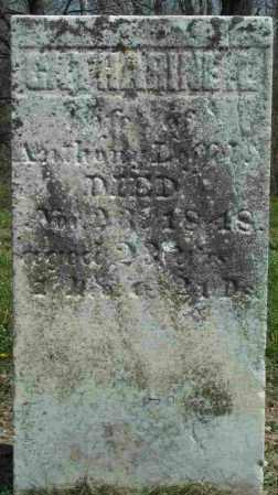 LEFFEL, CATHARINE E. - Clark County, Ohio | CATHARINE E. LEFFEL - Ohio Gravestone Photos