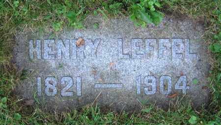 LEFFEL, HENRY - Clark County, Ohio   HENRY LEFFEL - Ohio Gravestone Photos