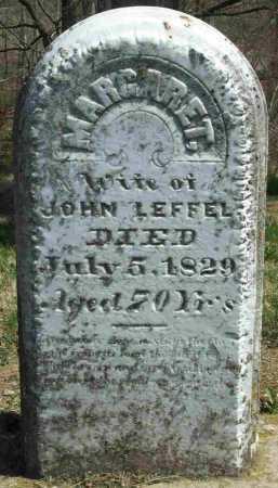 OBENCHAIN LEFFEL, MARGARET - Clark County, Ohio | MARGARET OBENCHAIN LEFFEL - Ohio Gravestone Photos