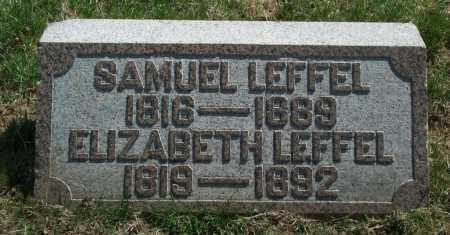 BAKER LEFFEL, ELIZABETH - Clark County, Ohio | ELIZABETH BAKER LEFFEL - Ohio Gravestone Photos