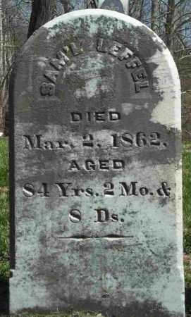 LEFFEL, SAMUEL - Clark County, Ohio   SAMUEL LEFFEL - Ohio Gravestone Photos