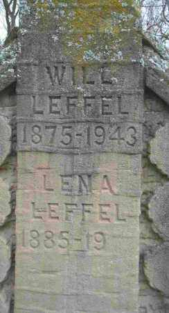 LEFFEL, WILL - Clark County, Ohio | WILL LEFFEL - Ohio Gravestone Photos