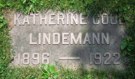 LINDEMANN, KATHERINE - Clark County, Ohio | KATHERINE LINDEMANN - Ohio Gravestone Photos