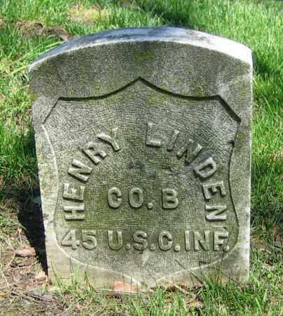 LINDEN, HENRY - Clark County, Ohio | HENRY LINDEN - Ohio Gravestone Photos