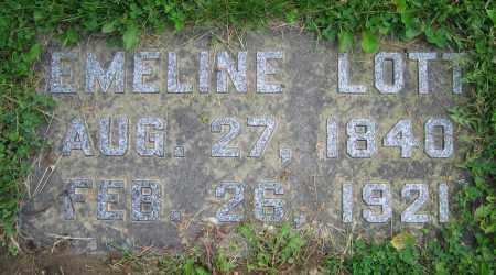 LOTT, EMELINE - Clark County, Ohio   EMELINE LOTT - Ohio Gravestone Photos
