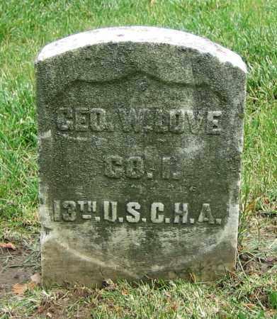 LOVE, GEO. W. - Clark County, Ohio | GEO. W. LOVE - Ohio Gravestone Photos