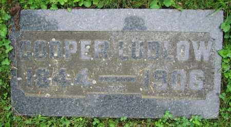LUDLOW, COOPER - Clark County, Ohio | COOPER LUDLOW - Ohio Gravestone Photos