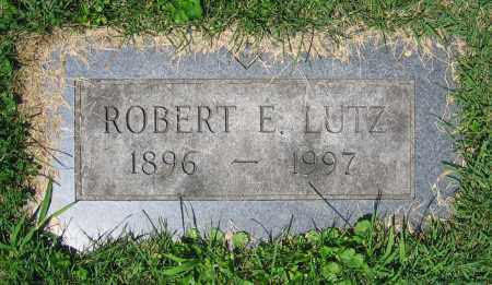 LUTZ, ROBERT E. - Clark County, Ohio | ROBERT E. LUTZ - Ohio Gravestone Photos