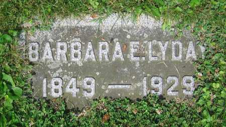 LYDAY, BARBARA E. - Clark County, Ohio | BARBARA E. LYDAY - Ohio Gravestone Photos