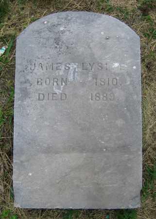 LYSITE, JAMES - Clark County, Ohio   JAMES LYSITE - Ohio Gravestone Photos