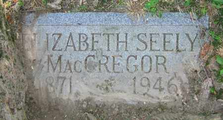 MACGREGOR, ELIZABETH - Clark County, Ohio | ELIZABETH MACGREGOR - Ohio Gravestone Photos