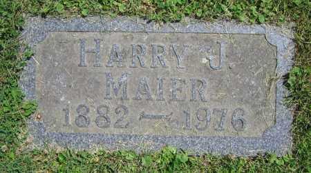 MAIER, HARRY J. - Clark County, Ohio | HARRY J. MAIER - Ohio Gravestone Photos