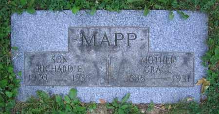 MAPP, GRACE - Clark County, Ohio | GRACE MAPP - Ohio Gravestone Photos
