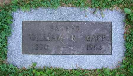 MAPP, WILLIAM R. - Clark County, Ohio   WILLIAM R. MAPP - Ohio Gravestone Photos